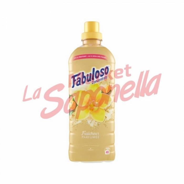 Balsam de rufe concentrat cu vanilie si mandarin  Fabuloso – 1L-40 spalari
